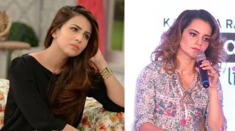 Ushna Shah wishes to be the Pakistani version of Kangana Ranaut