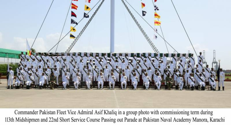 113th Midshipmen & 22nd SSC Course Passing Out Parade held at PNA
