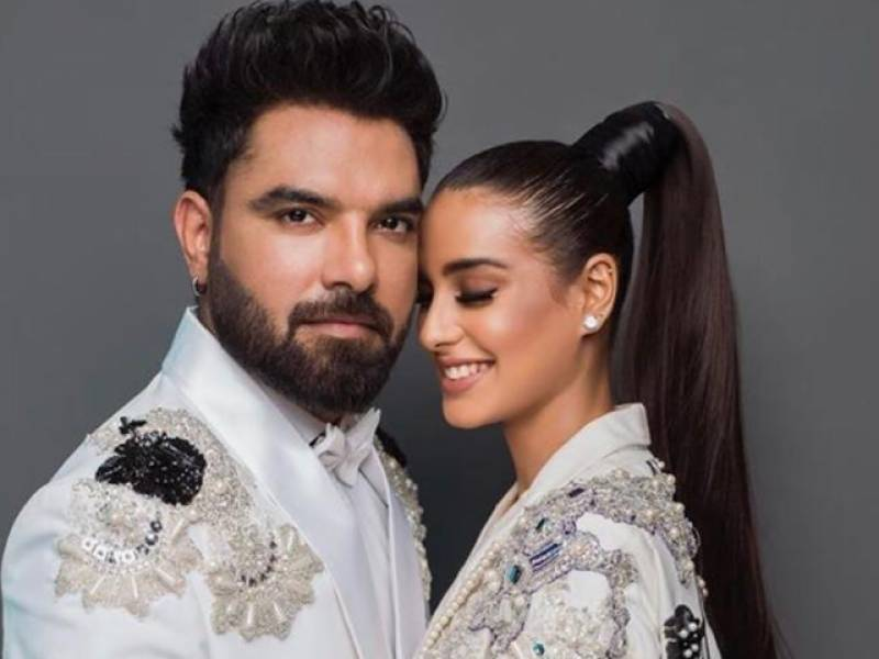 Yasir Hussain is madly in love with wife Iqra Aziz and he isn't afraid of showing it