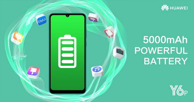 A Battery Beast at 5,000 mAh: Meet the new HUAWEI Y6p