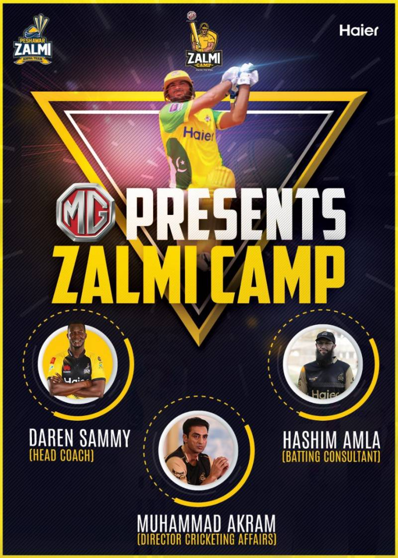 Peshawar Zalmi announces Digital Camp to find young talent (VIDEO)