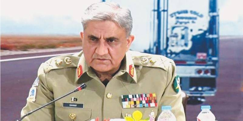 Army chief pays tribute to security guards, forces for foiling PSX attack