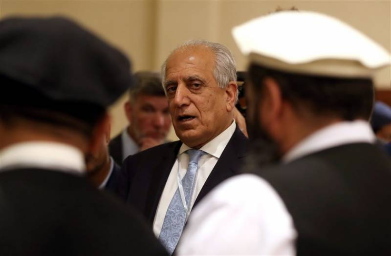US special envoy Zalmay Khalilzad due in Pakistan to discuss Afghan peace