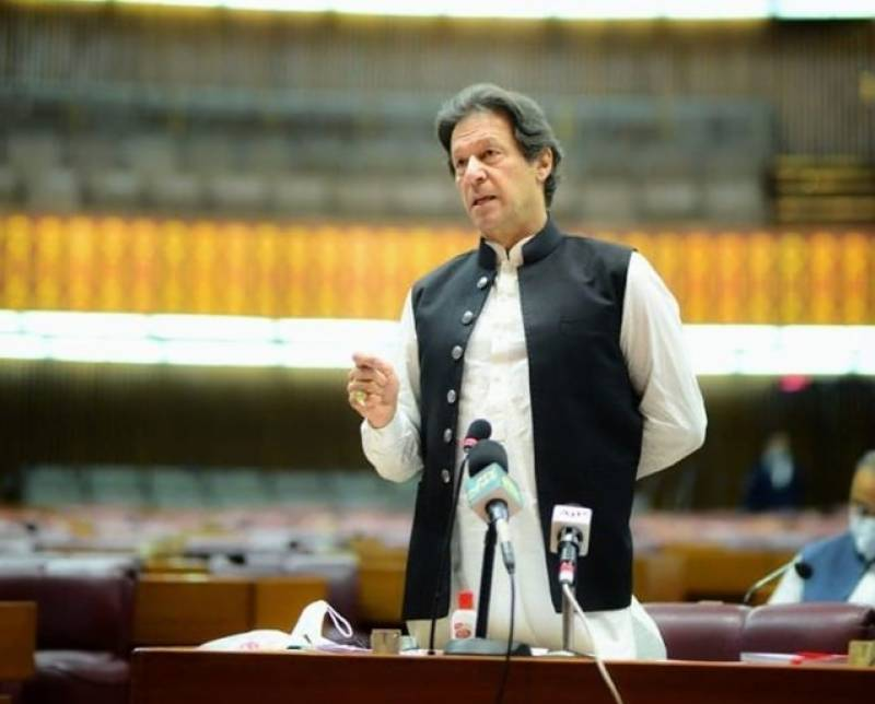 PM takes a jibe at opposition over corruption in furious NA speech
