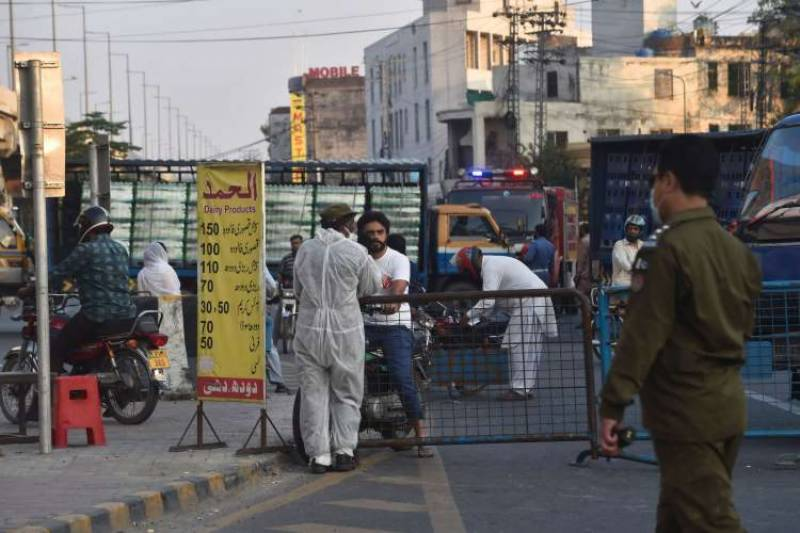 61 areas reopened in Lahore, smart lockdown extended in seven localities