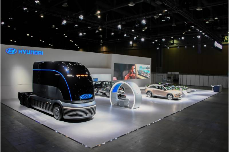 World's first Hydrogen Mobility Show in Seoul