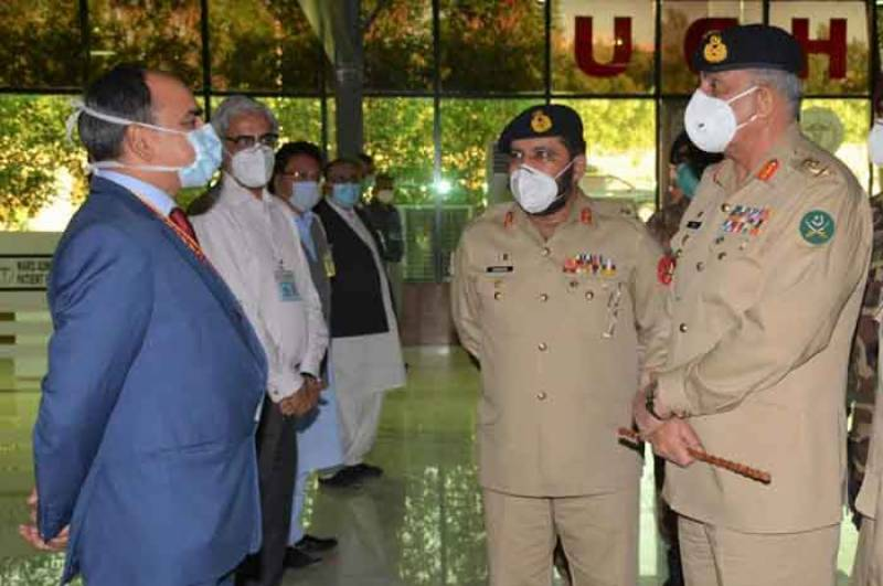 COAS satisfied over LEA's coherent response for peace in Karachi