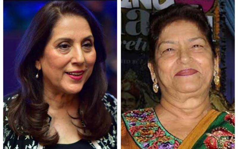 Samina Peerzada pays her respects to the late Saroj Khan