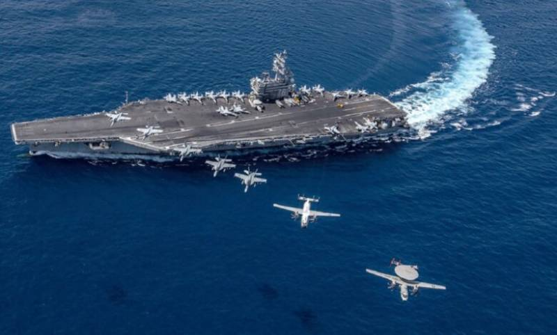 US aircraft carriers conduct drills in South China Sea