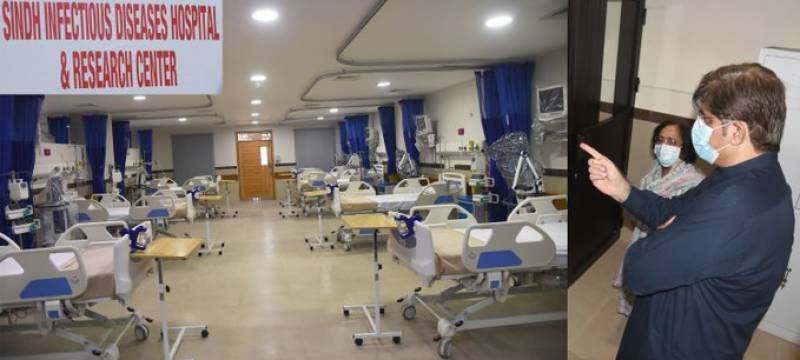 Sindh opens first ever Infectious Disease Hospital & Research Center at NIPA