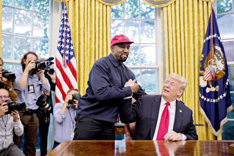 Rapper Kanye West running for US presidency