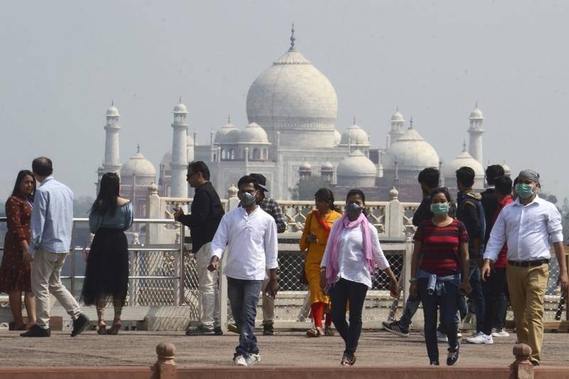 Taj Mahal to reopen amid record daily coronavirus cases in India