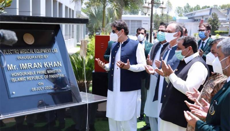 'Made in Pakistan': PM Imran opens first ever indigenous ventilators production unit