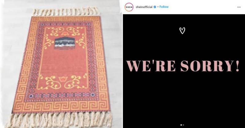 Chinese retailer Shein issues an apology for profiting off Muslim prayer mats