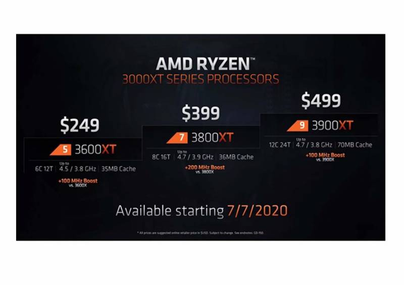 AMD KEEPS THING FRESH WITH RYZEN 3000XT RELEASE
