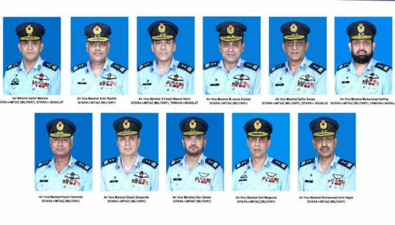 Aamir Masood becomes air marshal as promotions in PAF announced