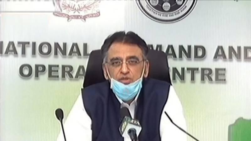Number of corona patients on ventilators down 28 percent: Asad Umar