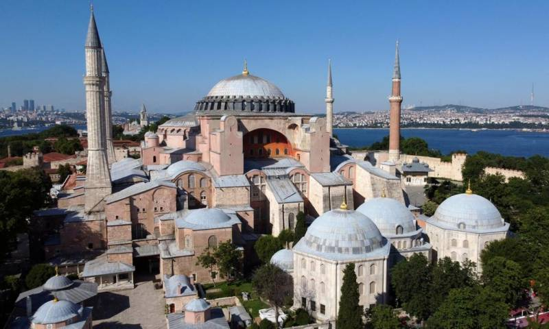 Turkey turns world-famous Hagia Sophia museum into mosque
