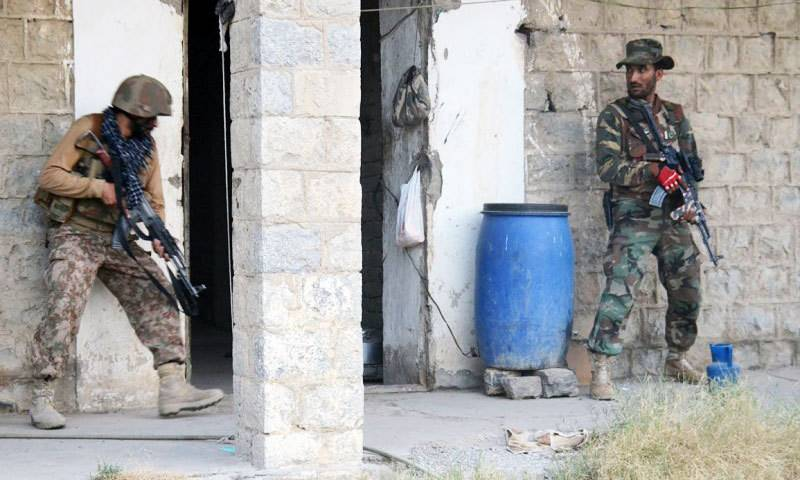 Four Pakistani soldiers martyred, 4 terrorists killed in North Waziristan operation