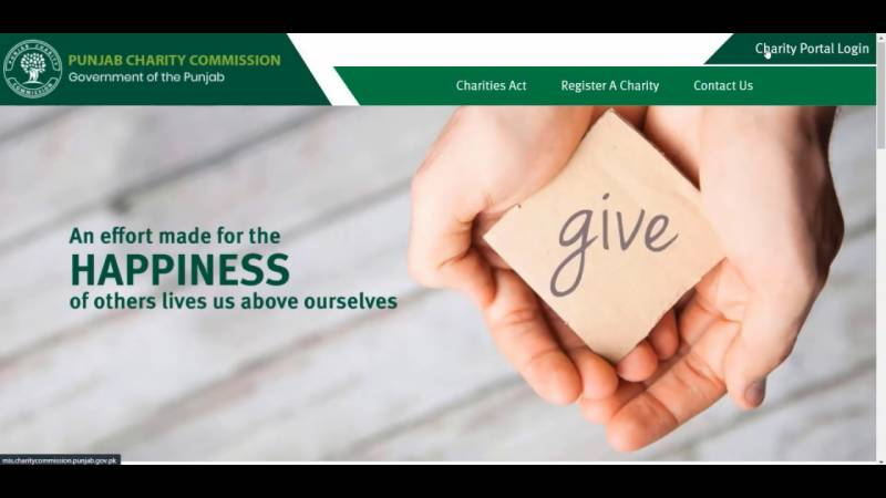 Punjab asks charity organizations to register before 15th August