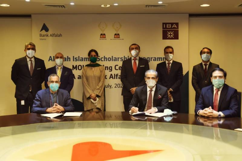 Bank Alfalah Islamic & IBA launch scholarship fund to help aspirants
