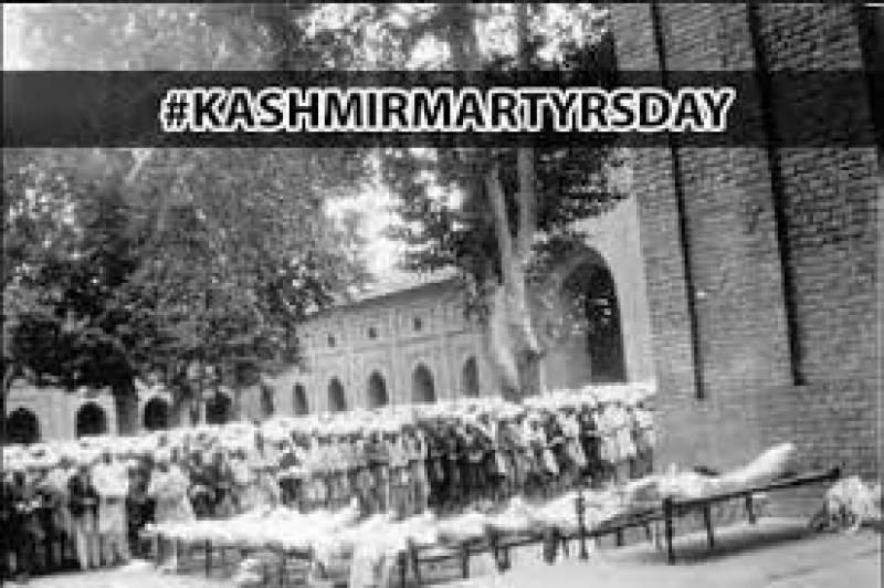 Complete shutdown in IOK as Kashmiris mark Martyrs' Day today to pay homage to martyrs of July 13, 1931