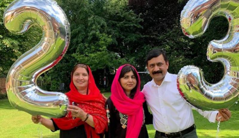 Malala Yousafzai turns 23