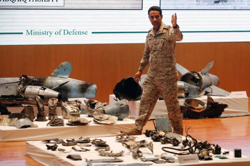 Saudi-led alliance -destroy 6 UAVs, 2 missiles fired by Yemen's Houthis