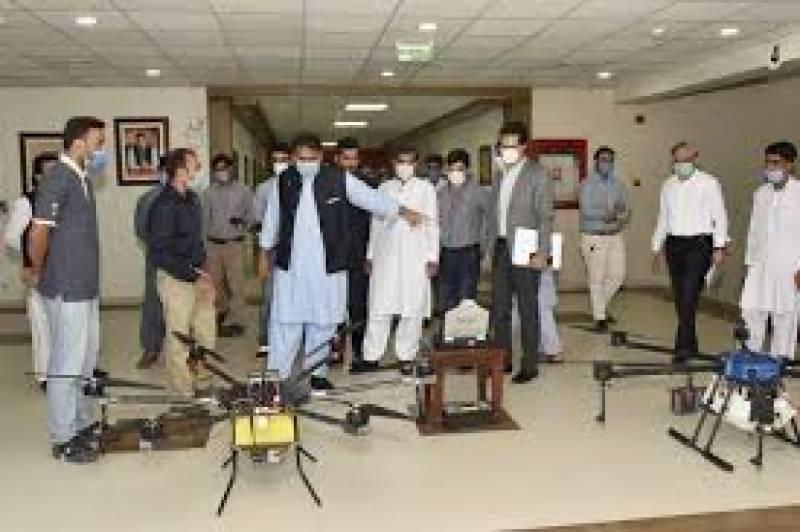 Made in Pakistan: Agricultural drones to usher in revolution, says Fawad