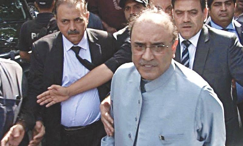 AC decides to indict Zardari in Thatta water supply case on August 4