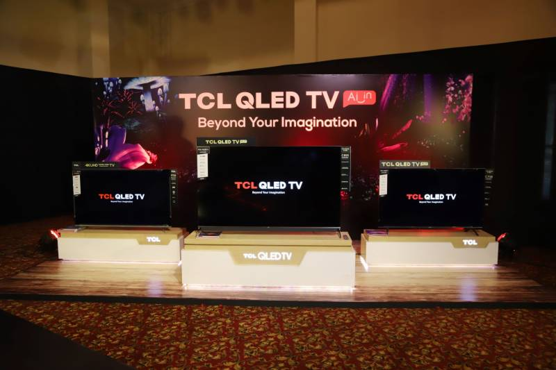 TCL Pakistan debuts expanded range of QLED TVs featuring Quantum Dot120hz display, hands-free voice control
