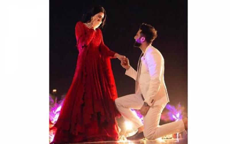 Sarah Khan and Falak Shabir get engaged, see photos
