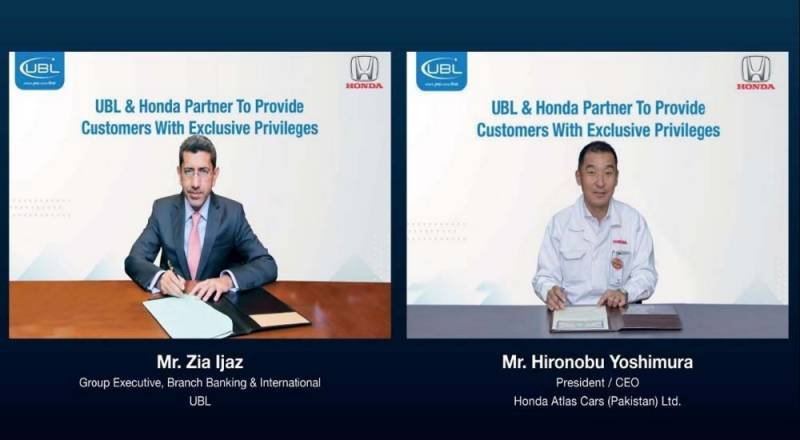 UBL & Honda sign deal to provide exclusive privileges to customers