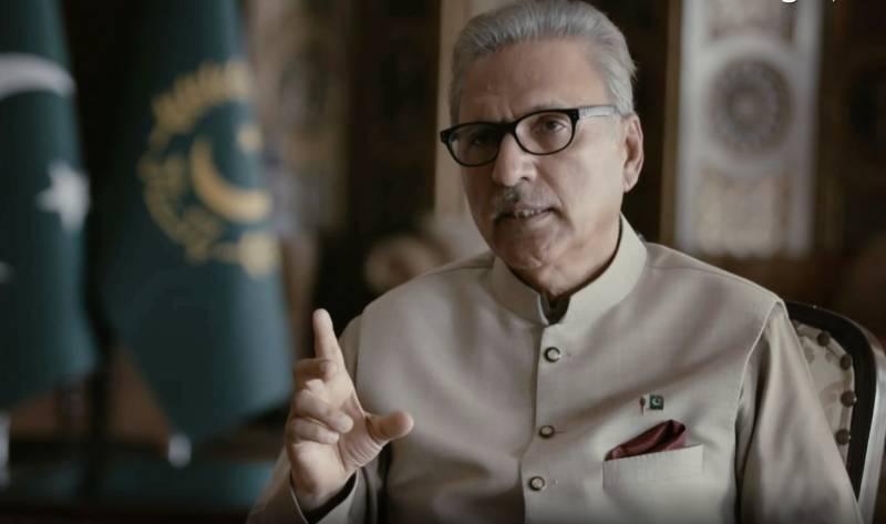 Entire nation deserves credit for Pakistan's win against COVID-19: President Alvi