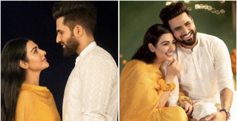 The most memorable pictures from Sarah Khan and Falak Shabir's wedding