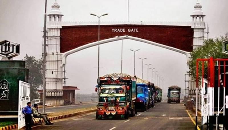 Two Afghan goods trucks enter India through Wagah Border