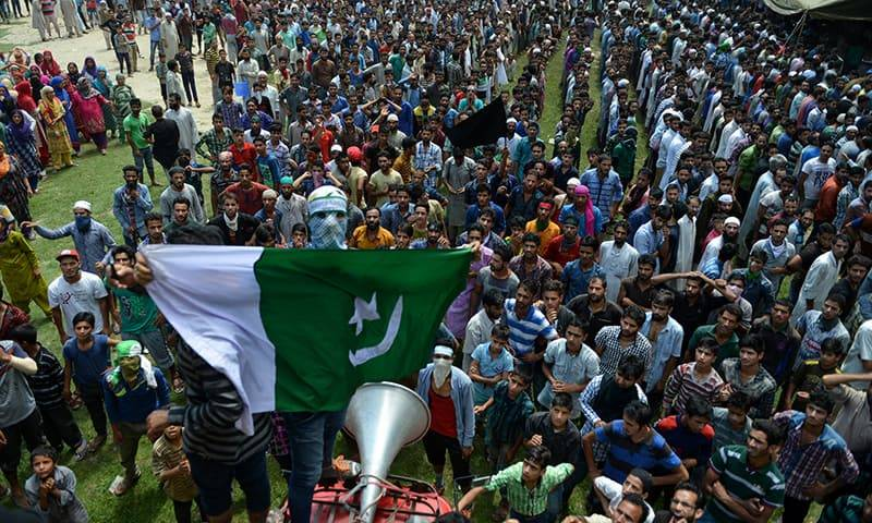 Kashmiris mark Accession to Pakistan Day on both sides of LoC
