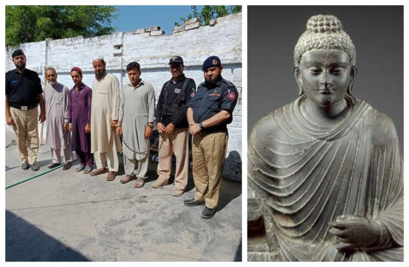 Pakistan makes arrests over destruction of 1700-year-old Buddha statue
