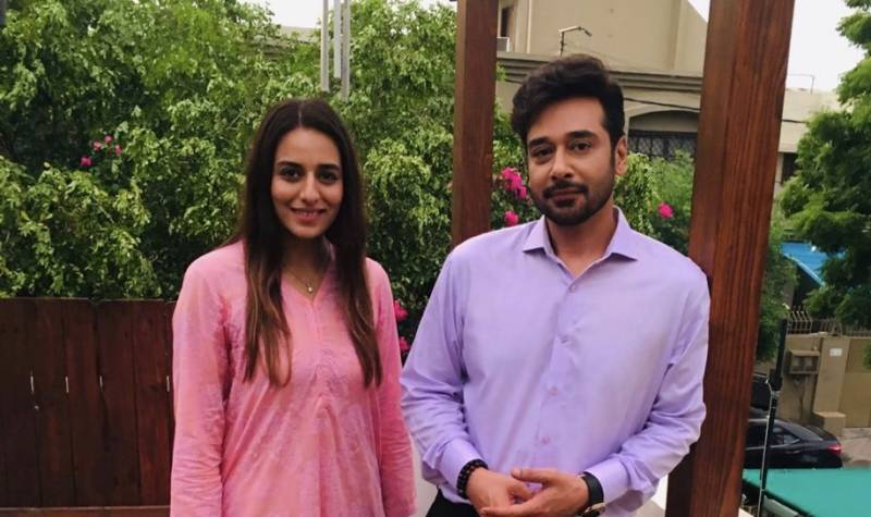 Kinza Razzak set for her ARY Digital debut as Faysal Quraishi's leading lady in 'Log Kia Kahenge'