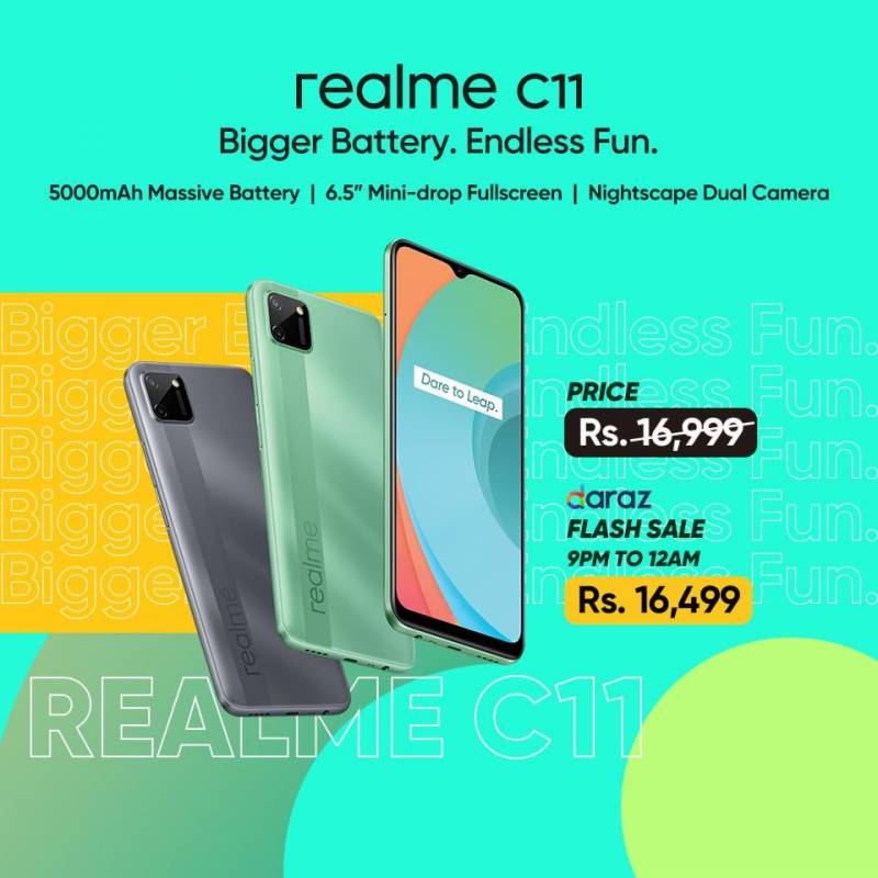 realme C11 launched with MediaTek G35 SoC in Pakistan