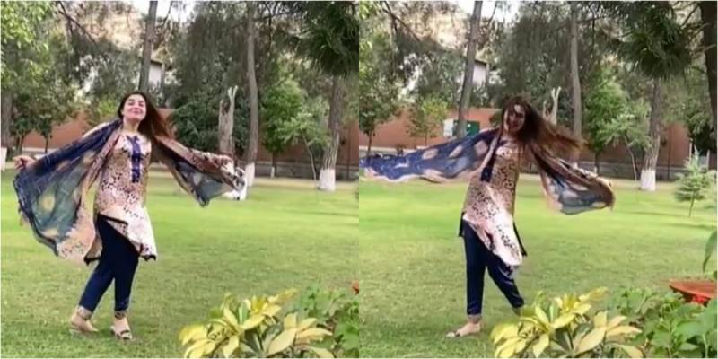 Gul Panra's new video at Khyber DC residence lands KP officials in hot water