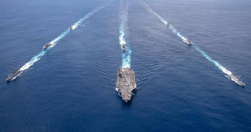 US, India hold joint naval exercise in Indian Ocean