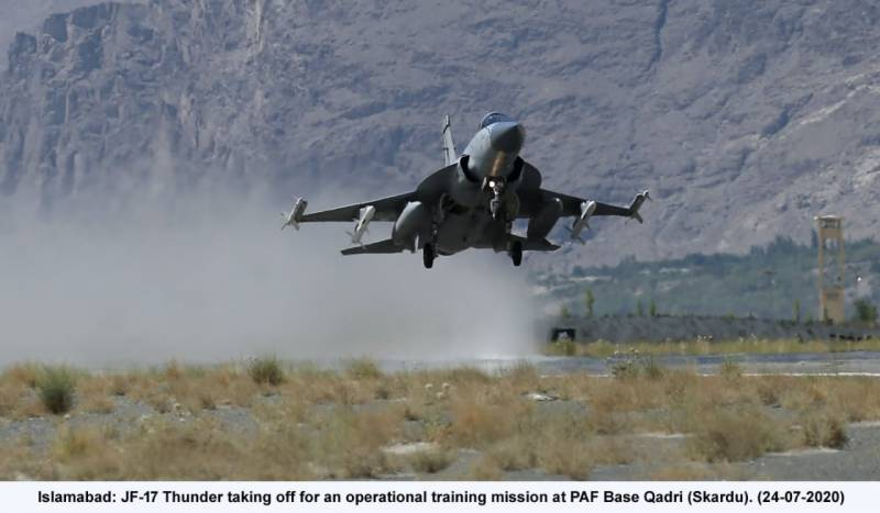 Pakistan Air Force holds operational exercise in Gilgit Baltistan