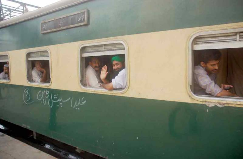 Pakistan Railways to operate four special Eid trains to facilitate passengers