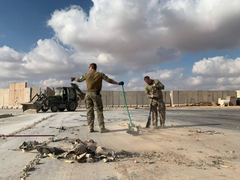 Rockets target military base used by US forces in south Baghdad