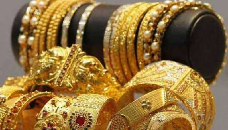 Gold rates soar to record high, reach Rs123,800 per tola