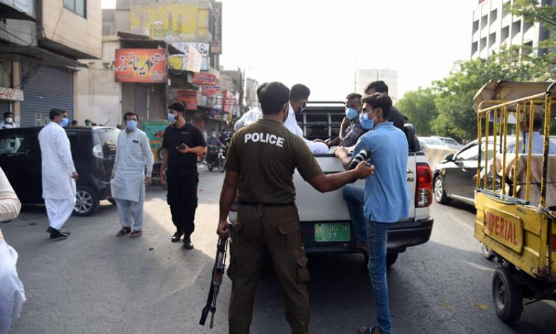 Several traders arrested for keeping shops open amid COVID-19 lockdown