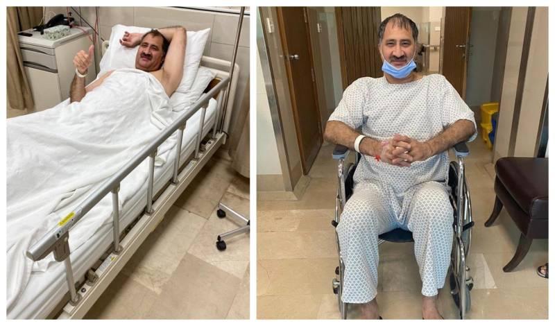 Pakistan's Squash legend undergoes spine surgery