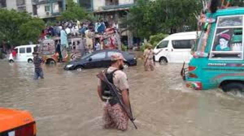 Pakistan Army called in to handle urban flooding crisis in Karachi