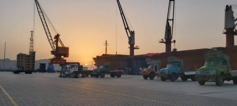 CPEC Authority chief announces start of another key operation at Gwadar port